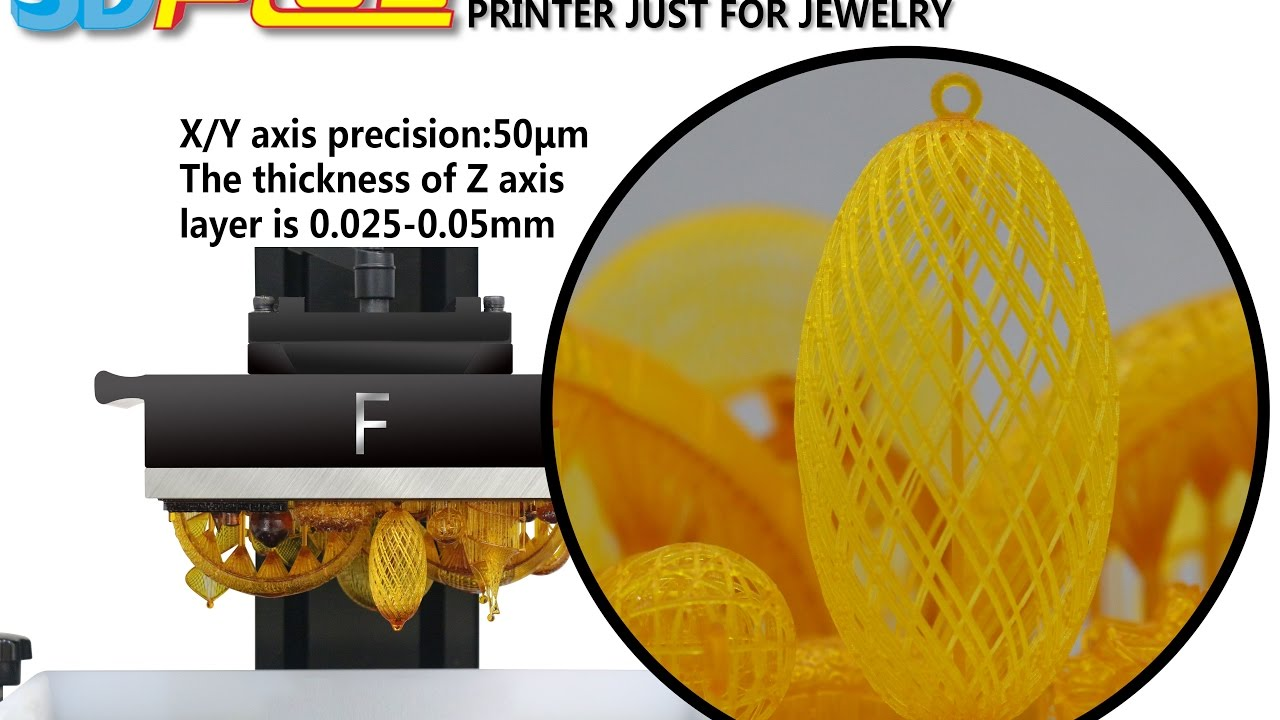 3D Plus Printer Newest DLP 3D Printer Just For Jewelry