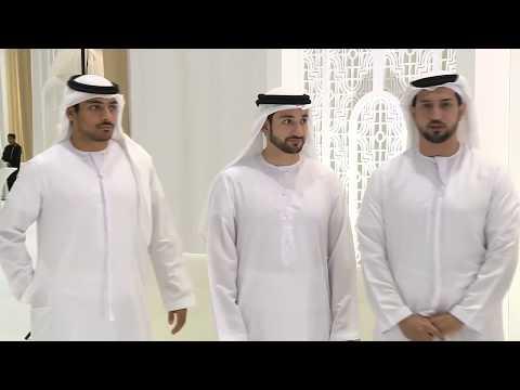 أفراح  الرستماني و أهلي  10-04-2018 مركز دبي التجاري العالمي