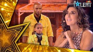 PAPA ET NEYLIA viajan al OESTE en su aplaudida actuación | Semifinal 04 | Got Talent España 2021