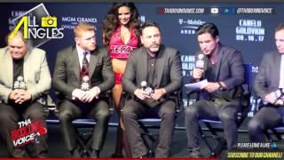 Canelo Alvarez vs. Gennady Golovkin Full Press Conference in Los Angeles