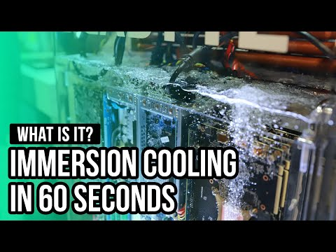 Immersion Cooling in 60 seconds