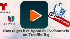 How to watch Spanish channels on Freeflix