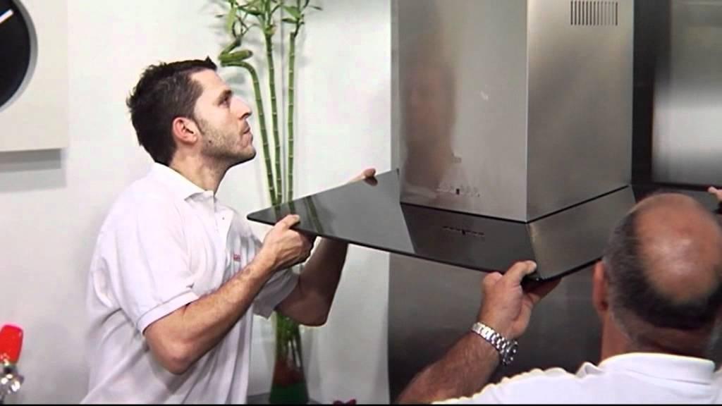 04 instalaci n campana decorativa youtube - Instalacion campana extractora ...