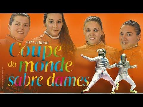 Coupe du monde de sabre dames à Orléans, samedi 28 octobre 2017 à 18h00