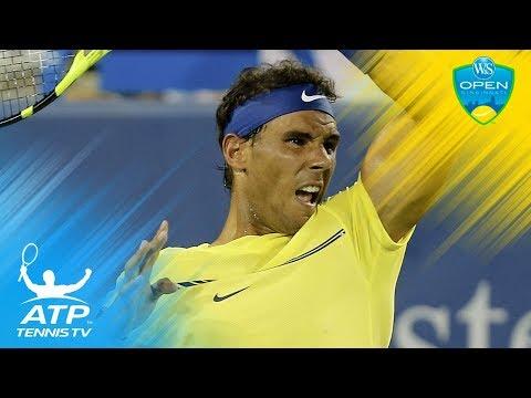 Del Potro, Nadal, Kyrgios dominate on day four | Cincinatti 2017 highlights day 4