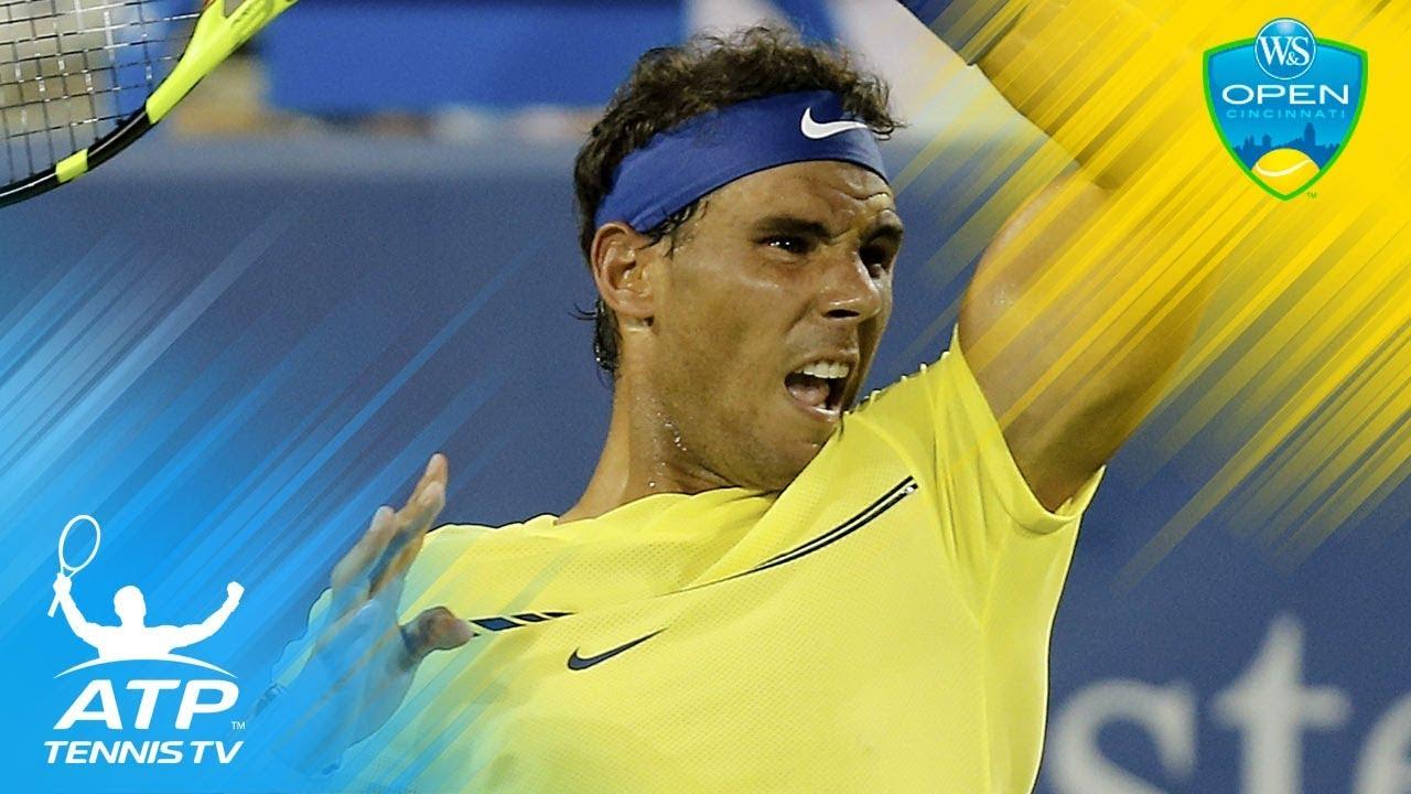 Del Potro, Nadal, Kyrgios dominate on day four   Cincinnati 2017 Highlights - YouTube