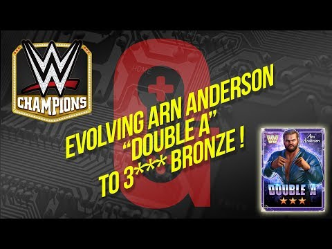 "WWE Champions - Evolving Arn Anderson ""Double A"" to 3*** Bronze 👍🏻"