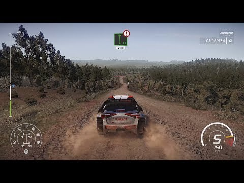 WRC 8 - Rally Chile Gameplay With Various Cars (New Rally In WRC 8)