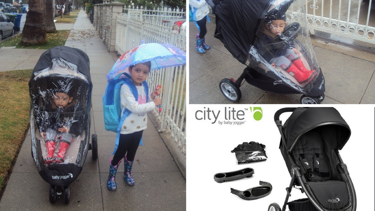 Baby Jogger City Lite Stroller Accessories Review