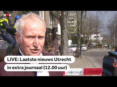 LIVE: Extra journaal (12.00 uur) na schoten in Utrecht