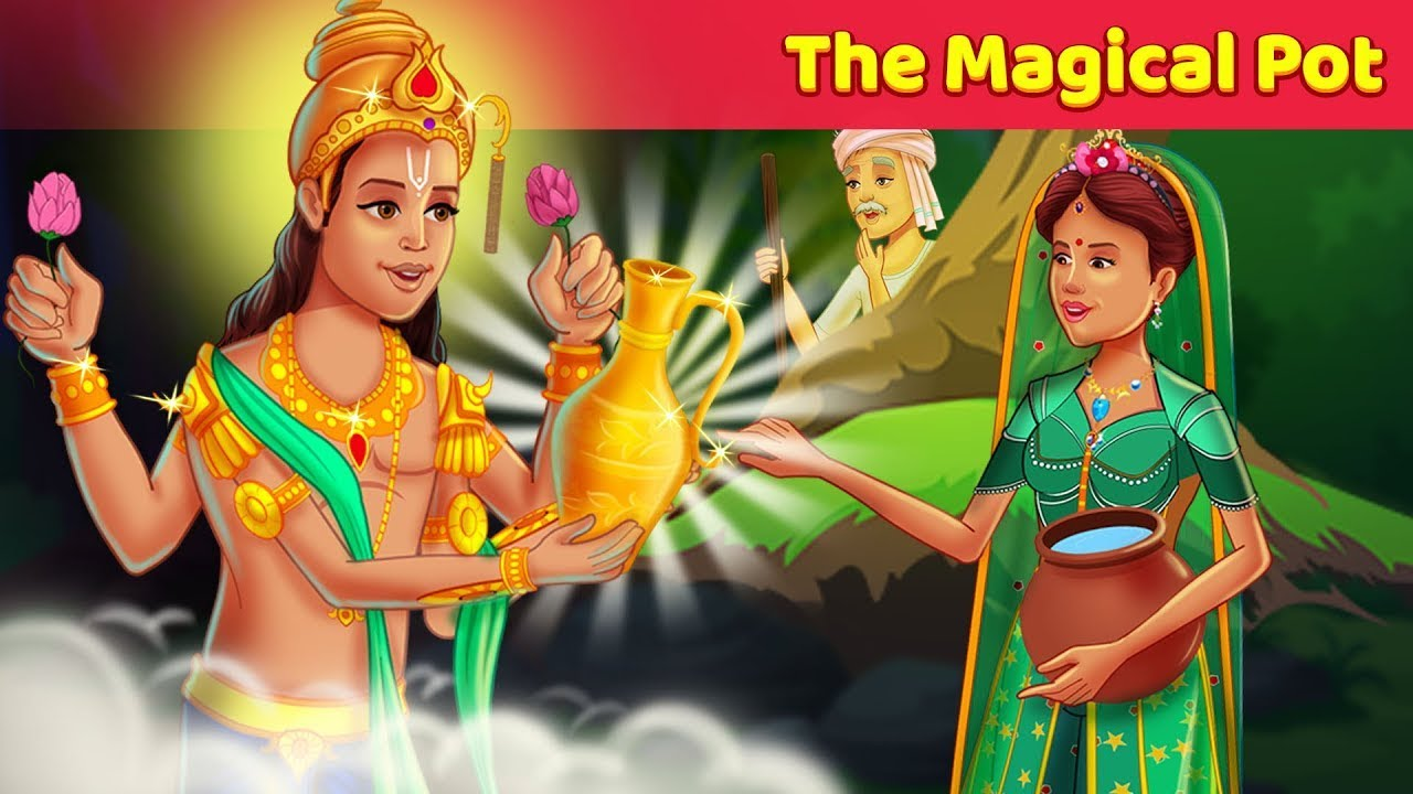 The Magical Pot Story |  STORIES TO LEARN || MORAL STORIES - HAPPY PRINCE & MORE