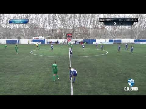 GOLES | C.D. Ebro 2 VS U.E. Cornellá 1