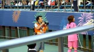 2012/9/8 FIFA U-20 女子ワールドカップ 2012 3位決定戦の日はゴールキ...