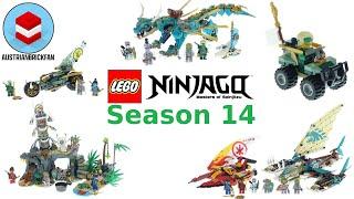 All Lego Ninjago Season 14 The Island Sets Compilation - Lego Speed Build Review