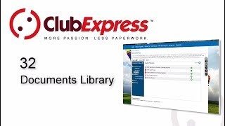 ClubExpress - 32 Documents Library