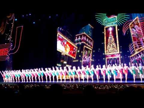 The Rockettes' Kick Line, Radio City Music Hall NY 2015