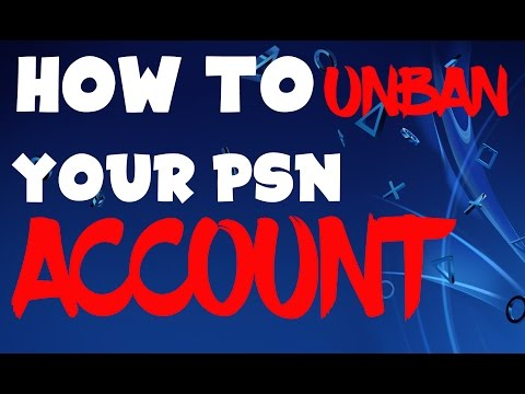 How to UNBAN your PSN Account! (PS4 & PS3) - YouTube