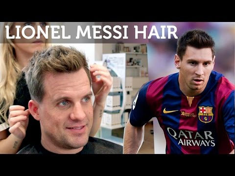 Mens Haircut | Lionel Messi Inspired Hairstyle | Great Short Hair Inspiration For Men