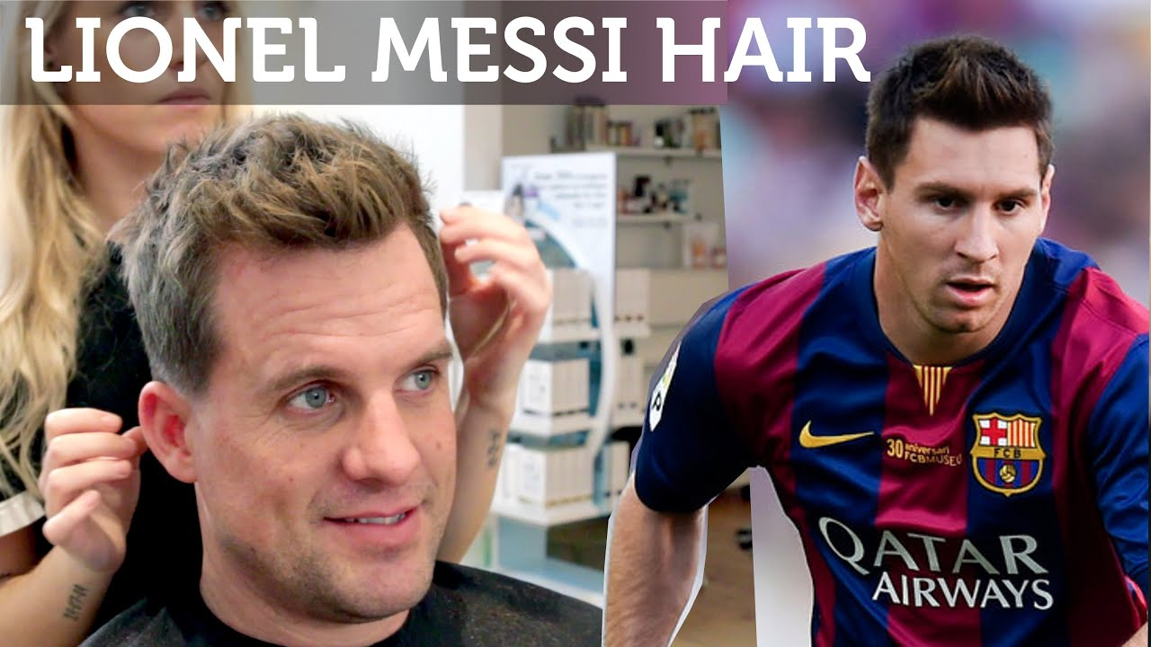 Men Haircut Lionel Messi Inspired Hairstyle Great