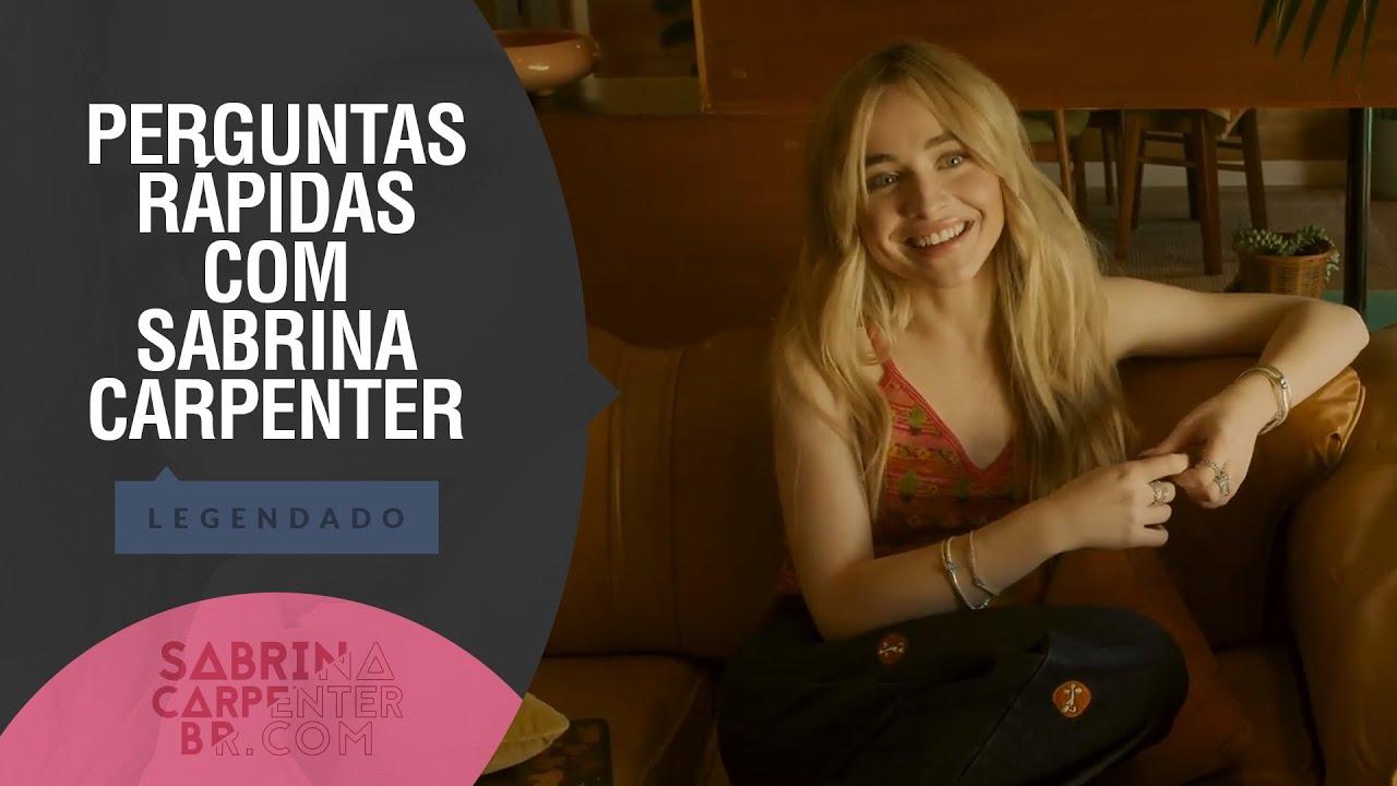 [LEGENDADO | PT-BR] Sabrina Carpenter responde perguntas rápidas para a InStyle Mexico