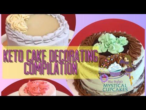 💖🎂 Keto Cake Compilation (SUGAR-FREE & GRAIN-FREE): GLUTEN-FREE Bakery As Seen On CUPCAKE WARS 💛🍰💜