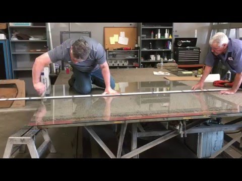 Custom Cutting a Glass Table Top