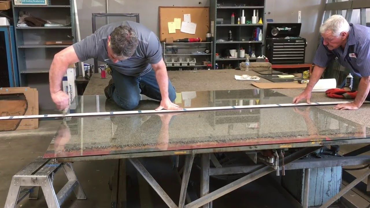 Custom Cutting A Glass Table Top Youtube