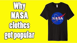 Why NASA Clothing is Popular Now