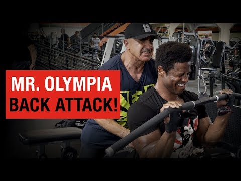 Killer Back Workout with Samir Bannout - Breon Ansley Road to 2018 Mr. Olympia