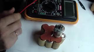 Жөндеу батарея шуруповерта Bosch