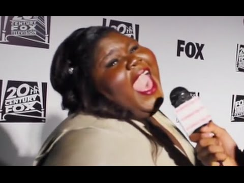 GABOUREY SIDIBE  at The Golden Globes
