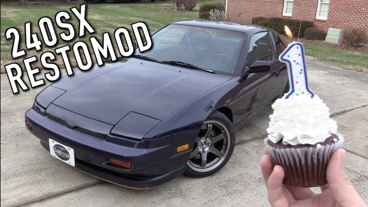 here s the progress i ve made on the 240sx restomod in the last year vloggest [ 1280 x 720 Pixel ]