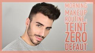 COMMENT AVOIR UN TEINT INVISIBLE AU TOP ?!! MORNING MAKEUP ROUTINE | Beautyction