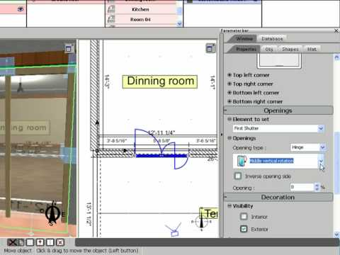 3d home design by livecad tutorials 06 the windows youtube