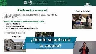 El Gobierno de la Ciudad de México dio el banderazo a la campaña de vacunación contra influenza, que iniciará este jueves 1 de octubre y prioriza a la población vulnerable