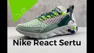 Nike React Element 87 x UNDERCOVER 'volt/university red-black'   UNBOXING & ON FEET   fashion shoes
