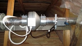 Приточно-вытяжная вентиляция деревянного загородного дома(Заказ энергосберегающих систем вентиляции, кондиционирования, отопления тепловыми насосами, теплыми пола..., 2015-06-01T21:30:26.000Z)