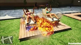 GTA 5 BRUTAL COMPILATION (Grand Theft Auto V Brutal/Fail/Funny/Cars)