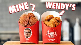 Making Wendy's Spicy Chicken Nuggets | But Better