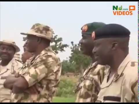 Nigeria's Chief Of Army Staff Joins Troops On The Frontline