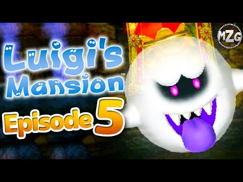 Luigi's Mansion 3DS Gameplay Walkthrough - Episode 5 - The End!? King Boo Final Boss! Area 4! (3DS)
