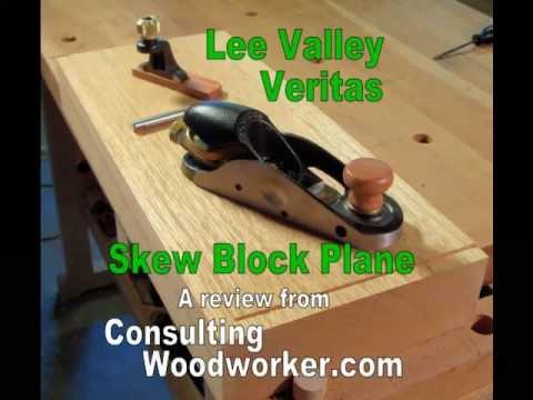 lee valley planes. lee valley skew block plane review.mp4 planes