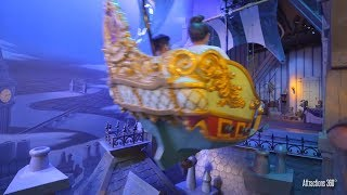 [4K] Peter Pan Dark Ride - Disneyland  - Peter Pan's Flying Ride POV