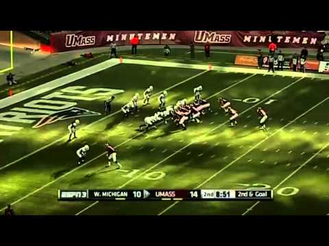 10/26/2013 Western Michigan vs UMass Football Highlights