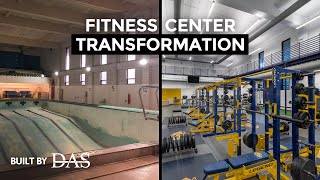 MCLA Fitness Center Transformation - Built By DAS