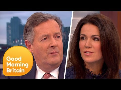 BBC Gender Pay Gap: Piers Morgan And Susanna Reid Share Their Thoughts | Good Morning Britain