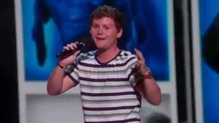 America s Got Talent 2015 Drew Lynch Stuttering Comedian Jokes About His Service Dog
