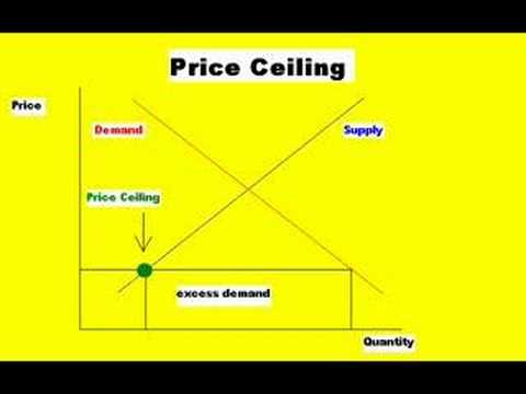 Beautiful Economics   Price Ceilings And Price Floors