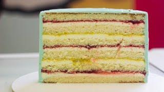 ПРОСТОЙ ТОРТ НА ВСЕ СЛУЧАИ ЖИЗНИ Рецепт торта с клубникой Вкусный торт на день рождения
