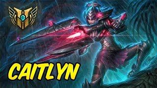 HOW TO PLAY CAITLYN Build &amp Runes Diamond Commentary Headhunter Caitlyn League of L ...